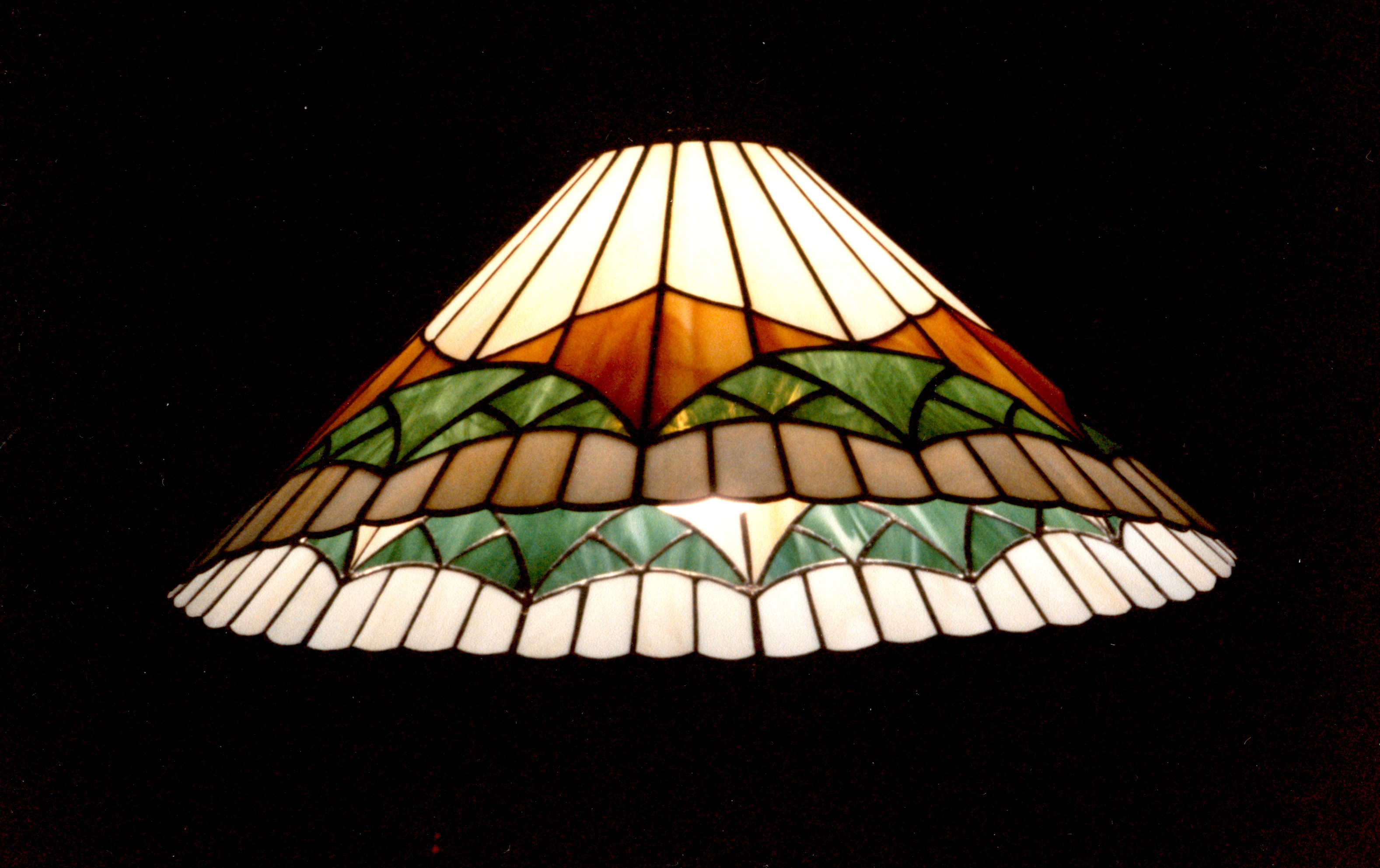 Glas in lood hanglamp